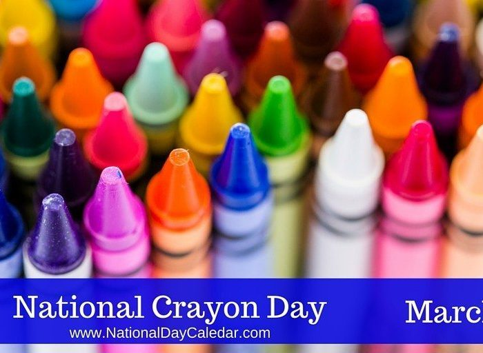 Happy National Crayon Day!